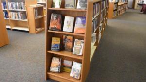 Sunnyside book shelves #4