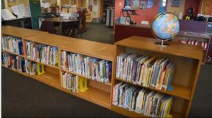Sunnyside book shelves #1